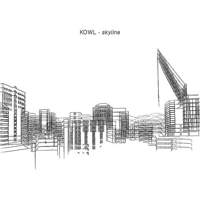 "Head over to Soundcloud & Bandcamp to hear ""Skyline"" the latest tune from @_kowl_"