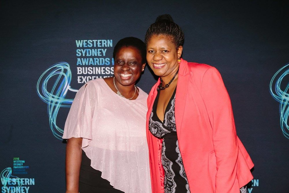 The delightful and dedicated Ruth and Elizabeth from African Theatres