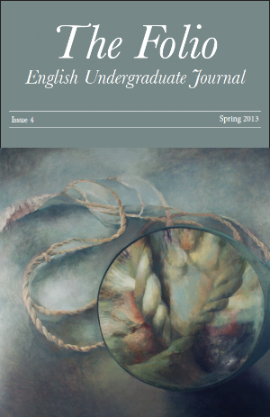 Cover of 4th issue of  The Folio