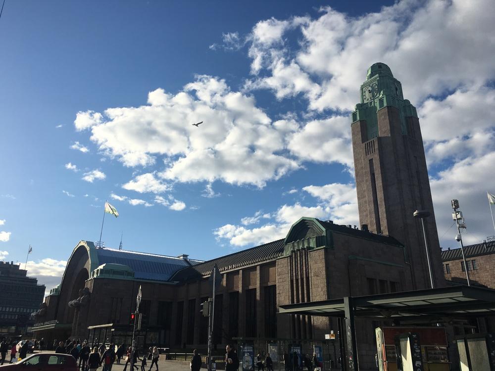 Helsingin  päärautatieasema / Helsinki / 10 Apr 2016
