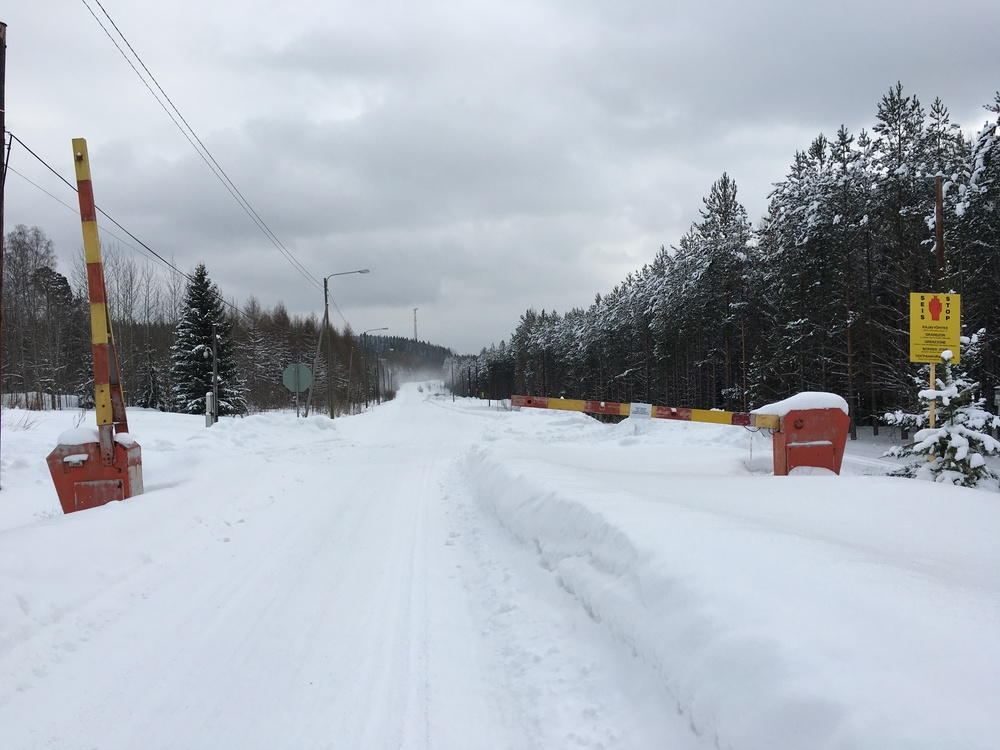 Russian Border near Svetogorsk / Imatra / 27 Feb 2016