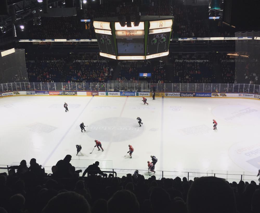 Espoo Blues vs Helsingin IFK / Espoo Metro Areena, Espoo / 23 Jan 2016