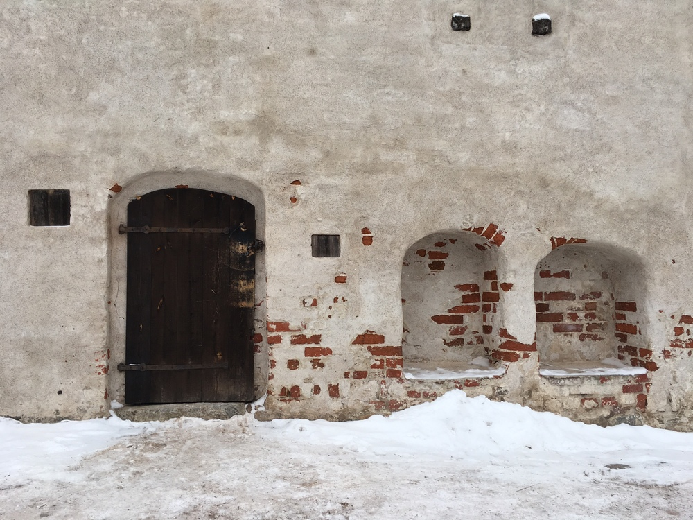Castle walls in winter / Turku / 22 Jan 2016