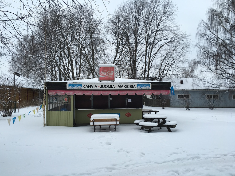 Closed for winter / Turku / 22 Jan 2016