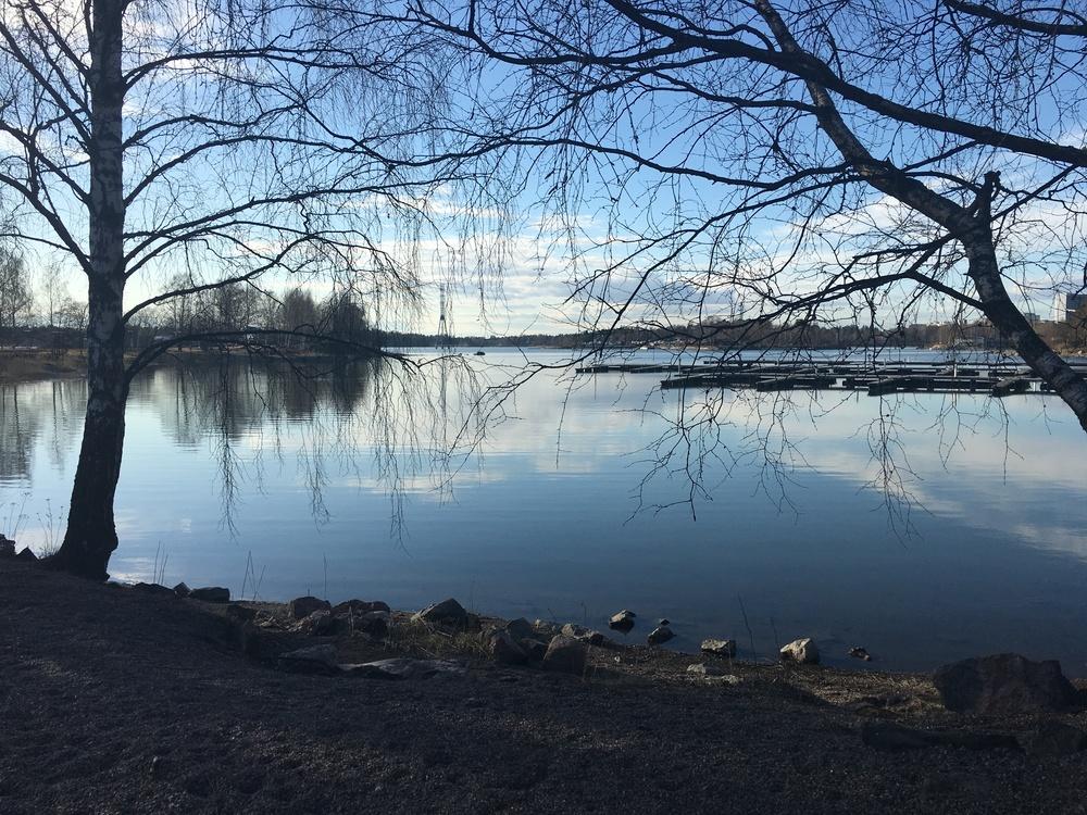 The end of Hietaniemi / Helsinki / 11 Apr 2016