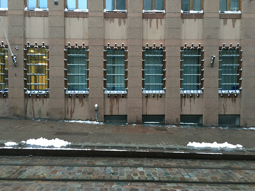 Drips and bars / Helsinki / 24 Jan 2016
