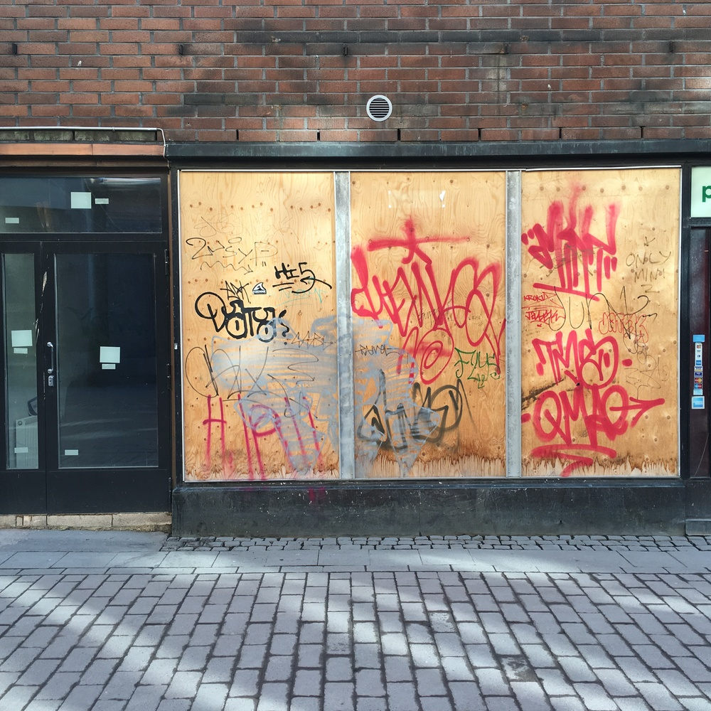 Boarded up in Punavuori / Helsinki / 12 Mar 2016