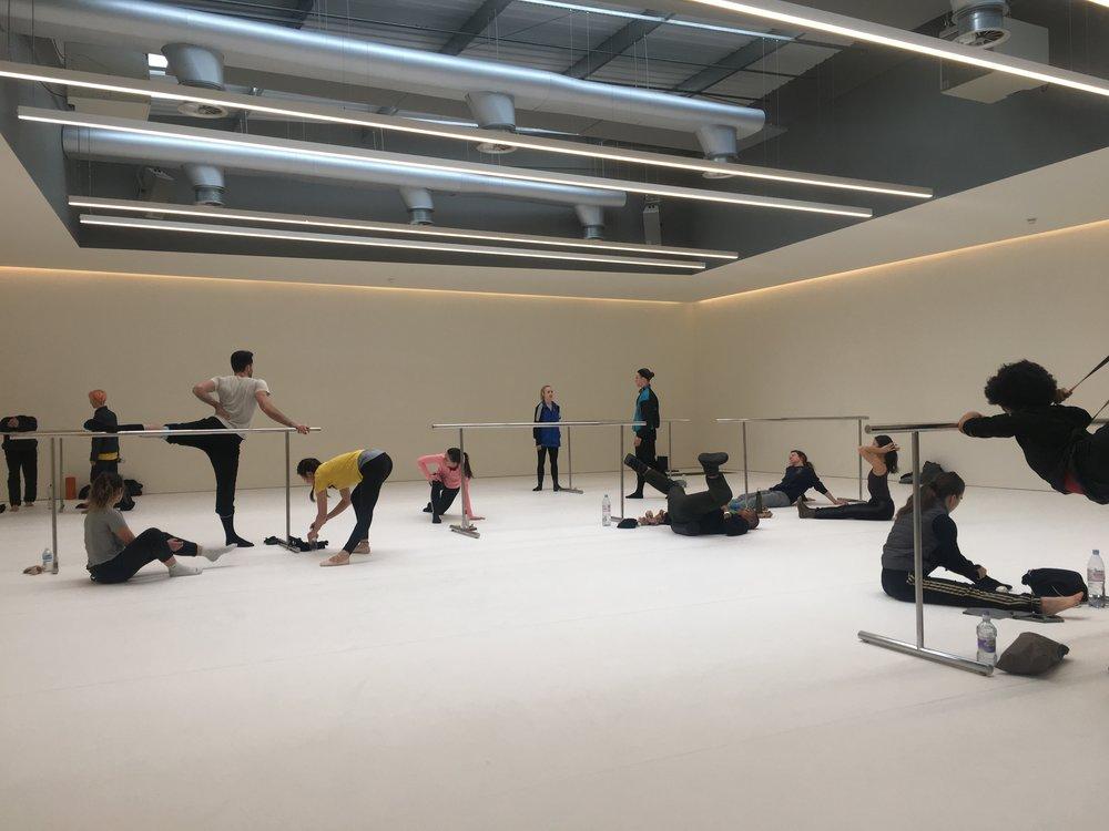 Open Company Class at Studio Wayne McGregor