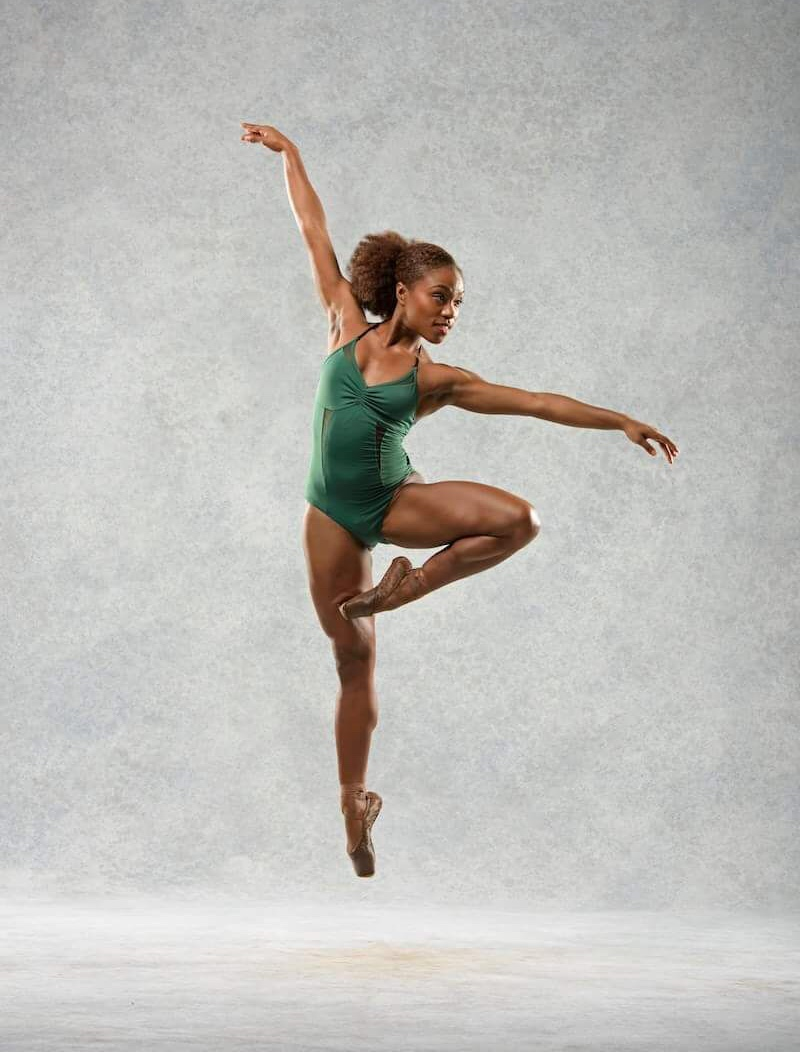 Marie Astrid Mence: Photo by Bill Cooper for Ballet Black