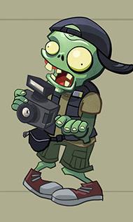 Paprazzi zombie concept
