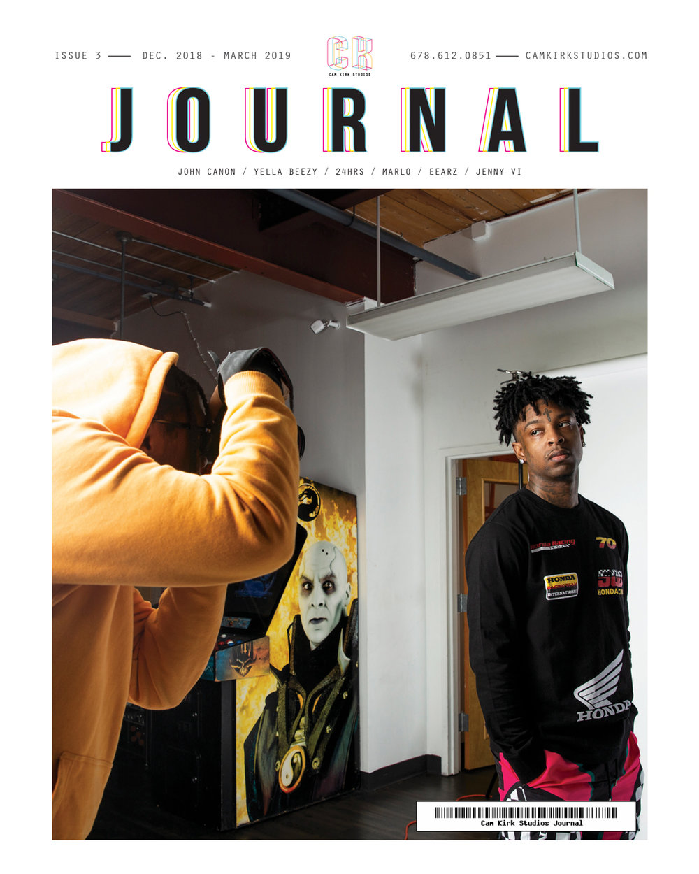 Issue #3 December-March 2019 feat. John Canon and 21 Savage