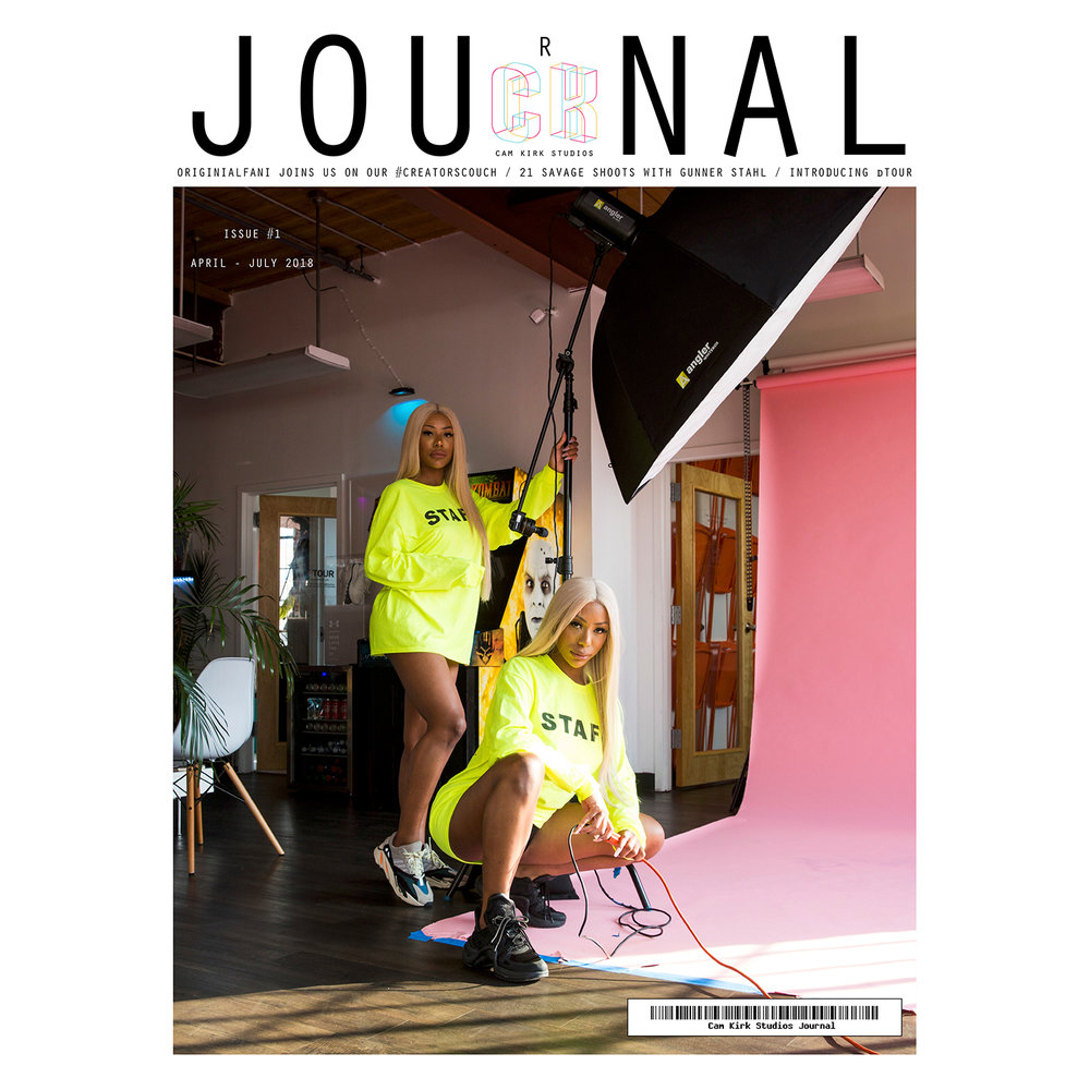 Issue #1 April-July 2018 feat. The Clermont Twins