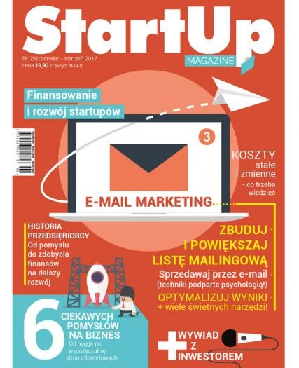 StartUp Magazine - aktualne wydanie czerwiec-sierpień 2017