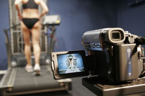 Just one of our specialised services- Video Gait Analysis