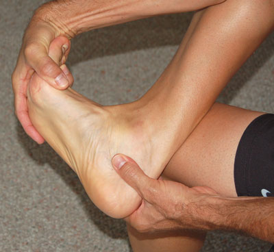 Plantar facial stretch