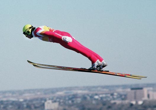 ski jumper exercise