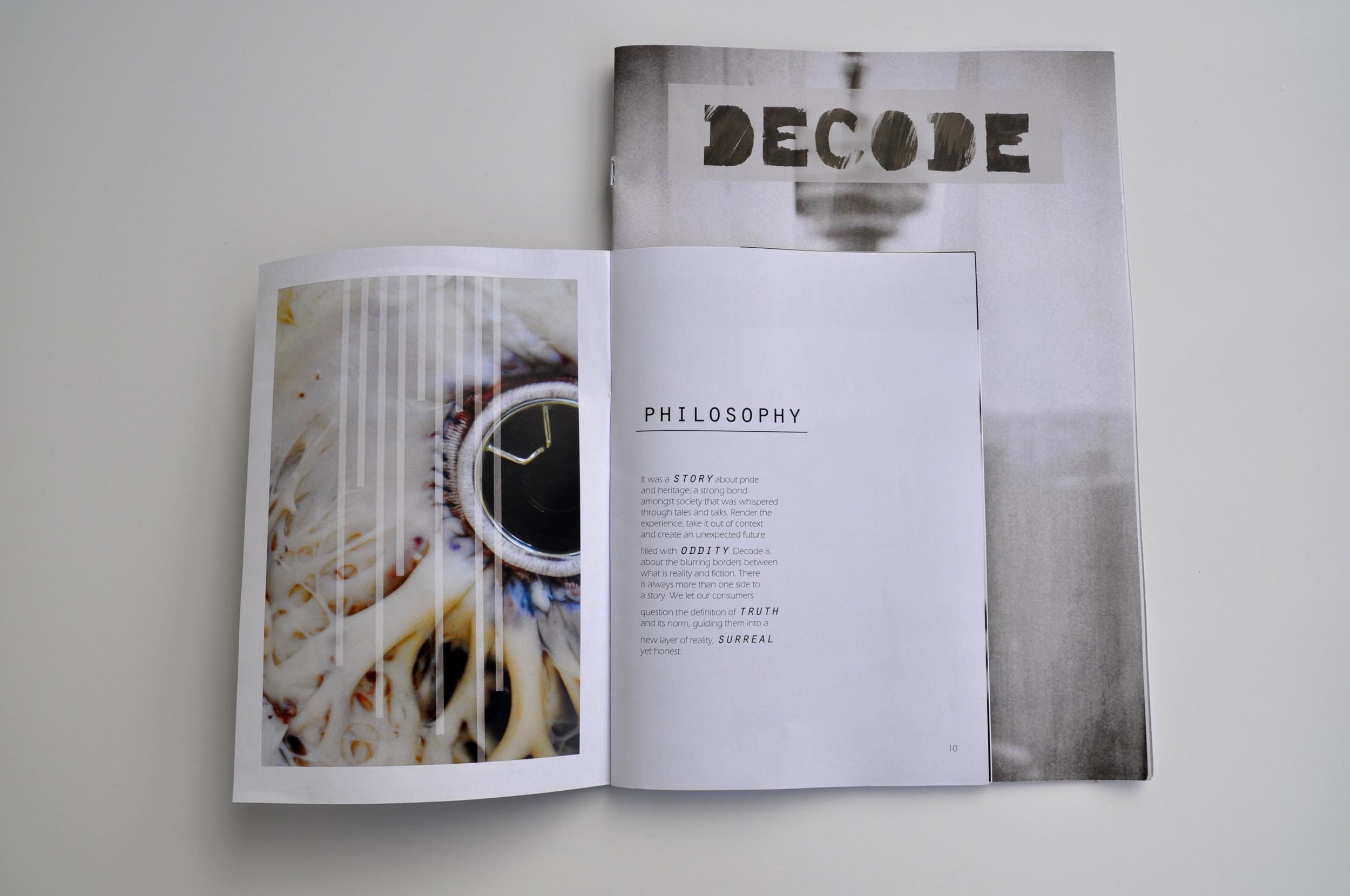 Brand book DECODE — luna michel