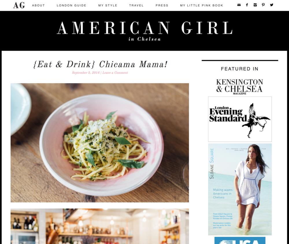 American Girl in Chelsea