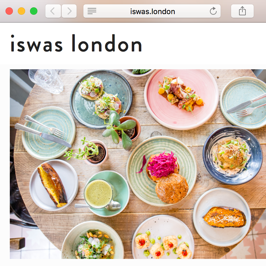 ISWAS LONDON Blog Review