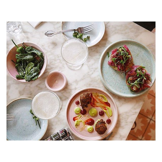 Lunching goals #chicamalondon #summervibes via @your_soul_is_beautiful