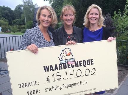 JCI Het Gooi doneert ruim EUR 15.000 aan Stichting Papageno in Hilversum
