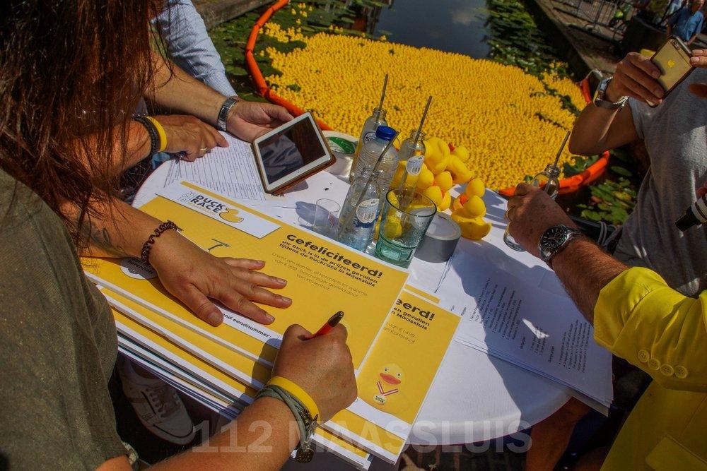 Op 26 mei organiseerde Excelsior Maassluis een Duckrace t.b.v. de jeugd, het renovatieplan en Daniel Den Hoed kliniek.
