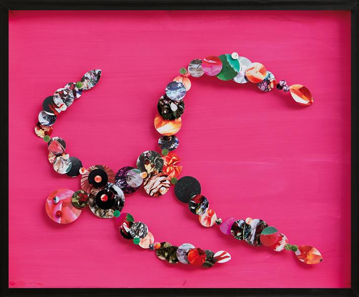 Pink Paris 2015  2017  51 x 42,2 x 5,6 cm
