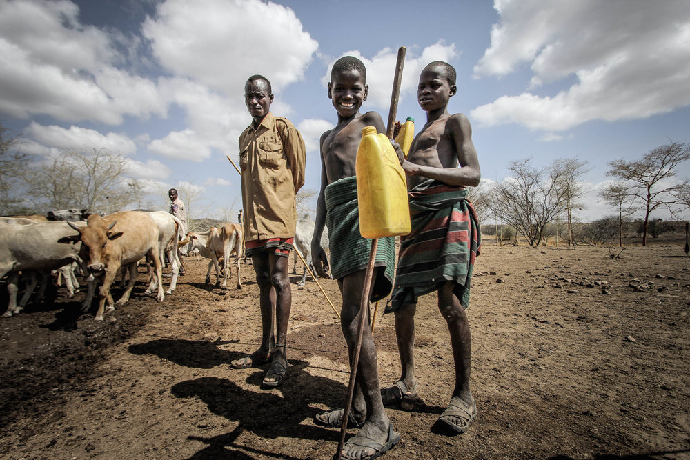 Drought and Climate Change in Karamoja // BARCROFT MEDIA February 2017