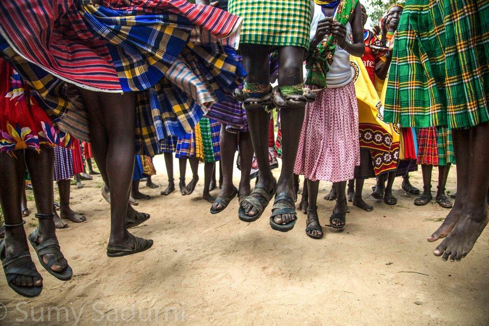 Print 7: Traditional Karamojong dance, Nkapritrit, northern Uganda
