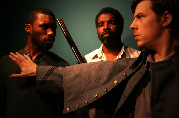 Cast of The Whipping Man -- Mario McClean, Darion McCloud, and Bobby Bloom