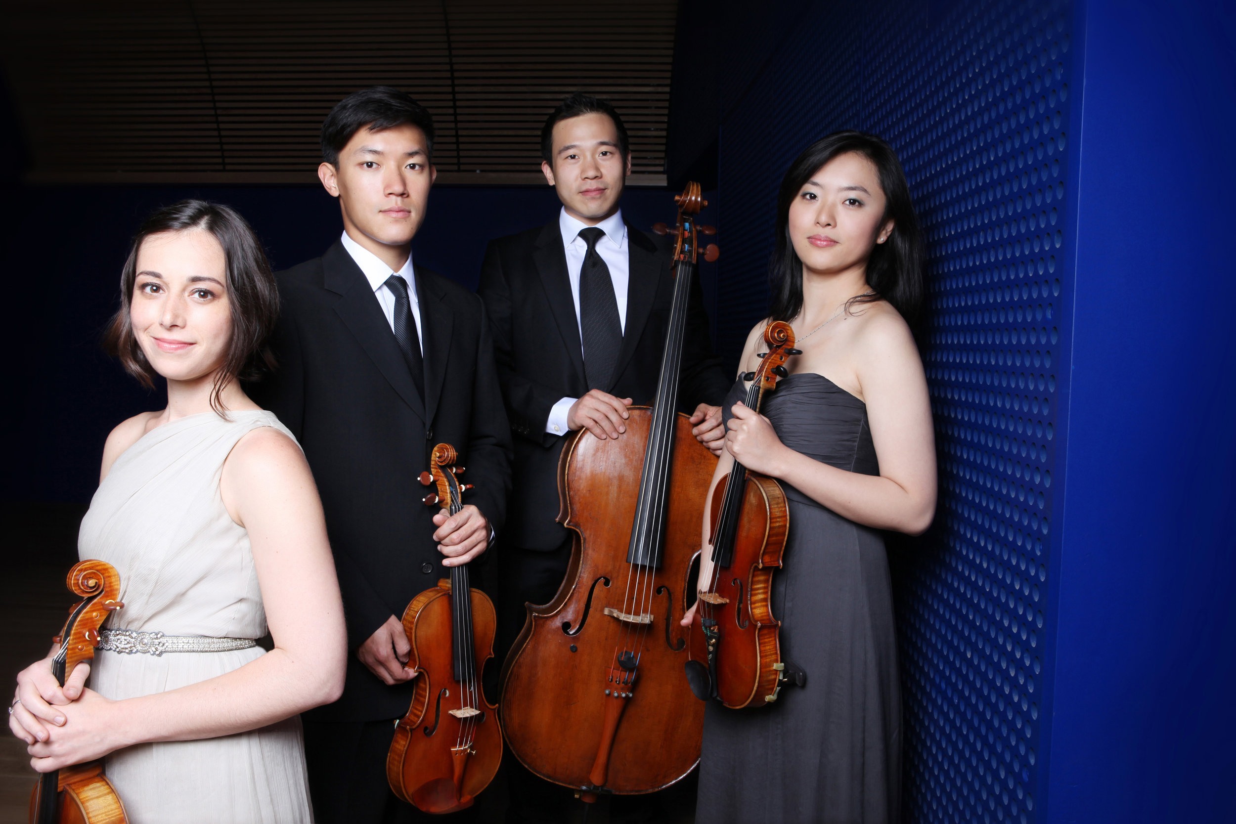 Parker Quartet - photo courtesy of Ellen Woodoff