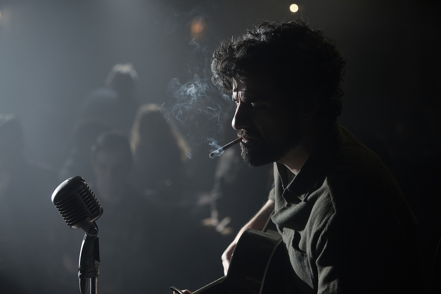 Oscar Isaac plays Llewyn Davis in the Coen Brothers new film.
