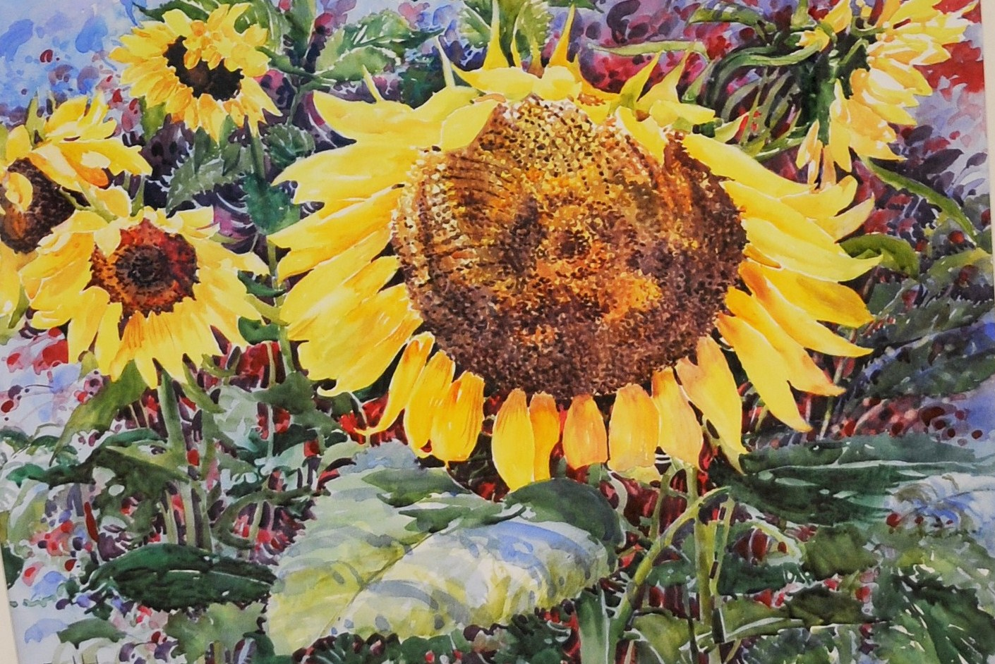 Sunflowers II by Erica Hoyt