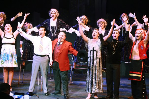 "the cast of ""The Producers"