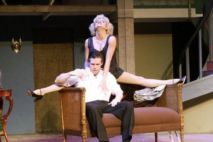 "Giulia Dalbec and Jason Stokes in ""The Producers"""