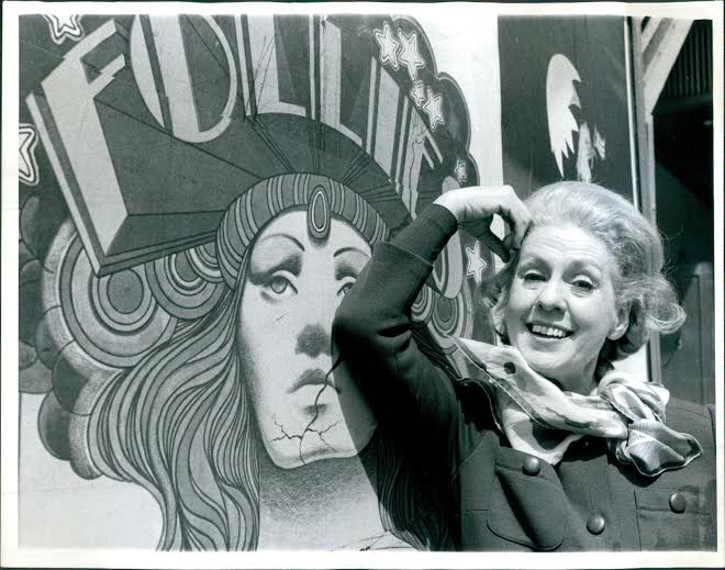 "Ethel Barrymore Colt in the original cast of ""Follies"""