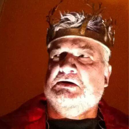 Chris Cook as King Lear