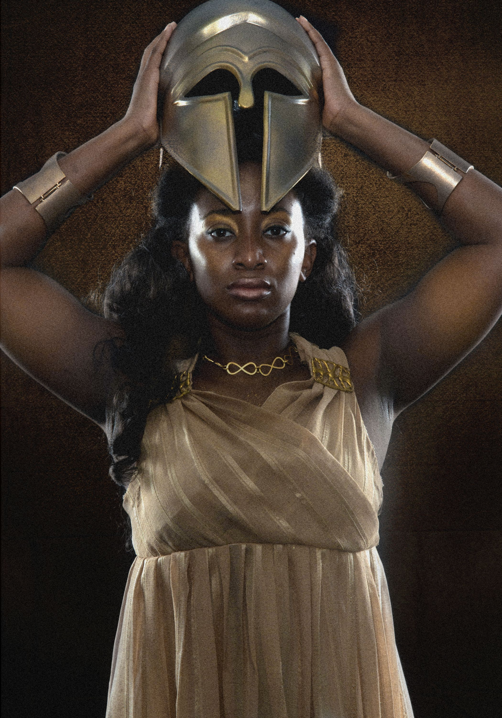 Jasmine James as Athena - photo by JAson Ayer