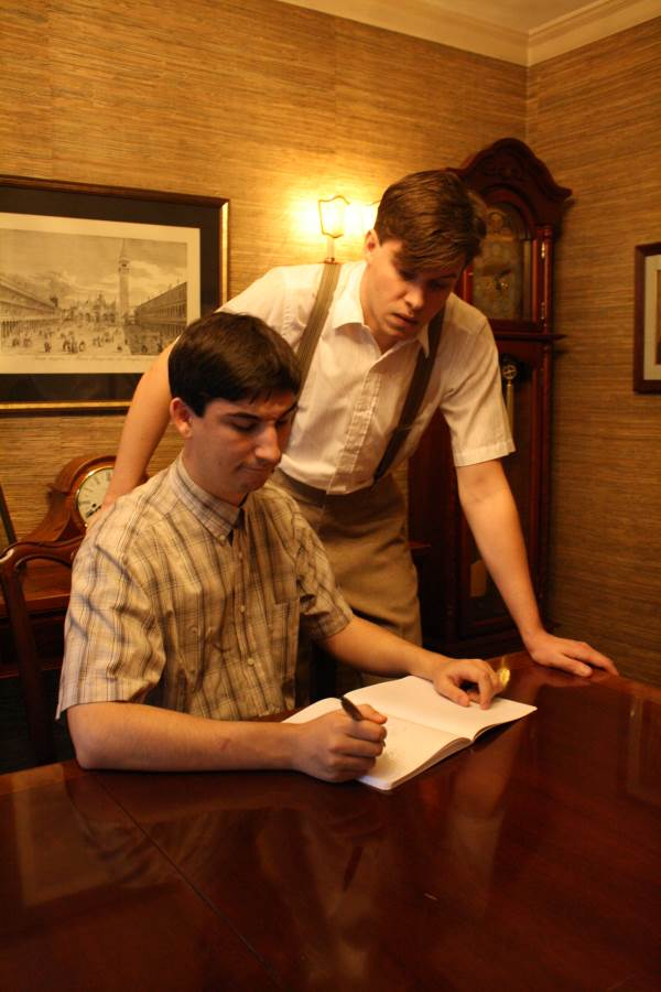 William Cavitt as Stanley and Ryan Stevens as Eugene