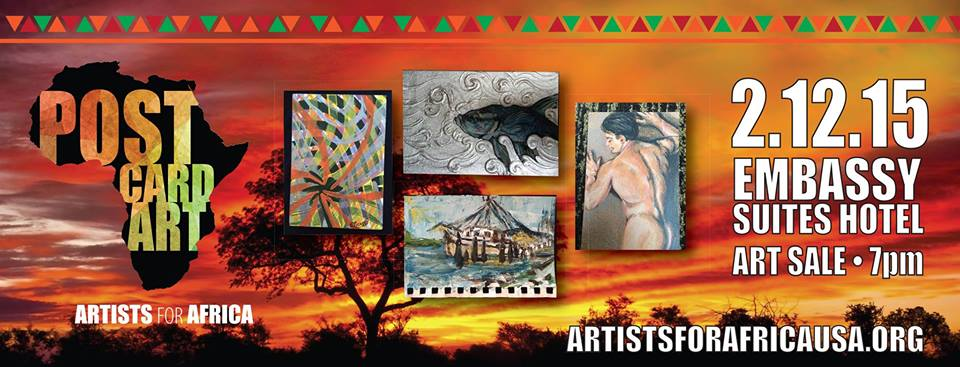 artist for africa postcard art 2015