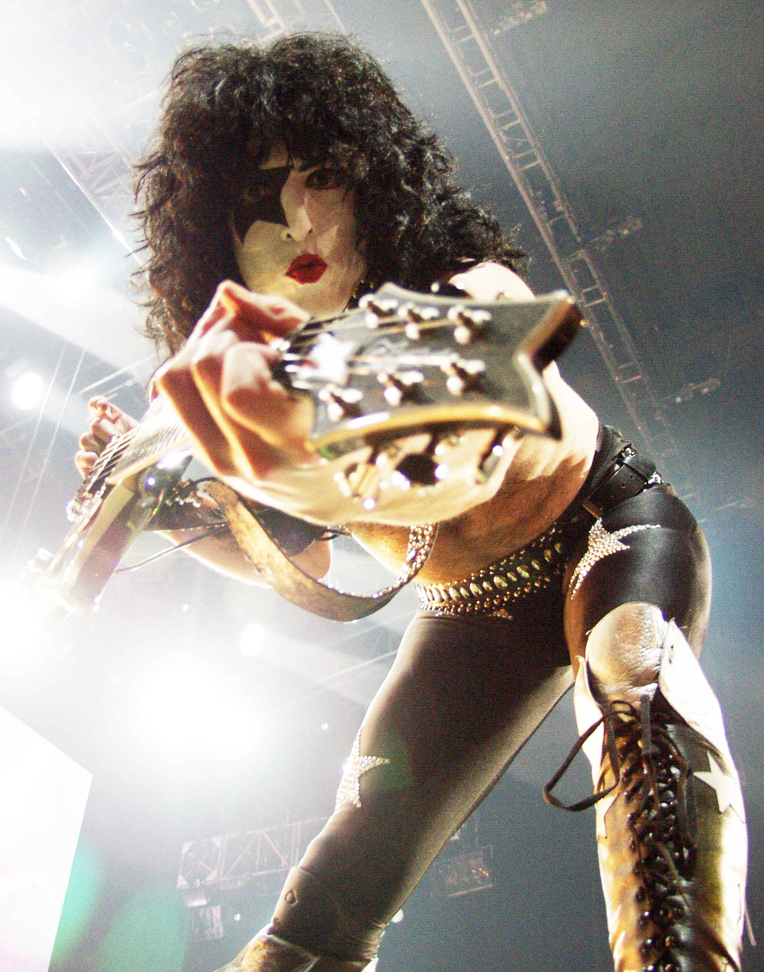 Paul Stanley from Kiss by Chris McKay©