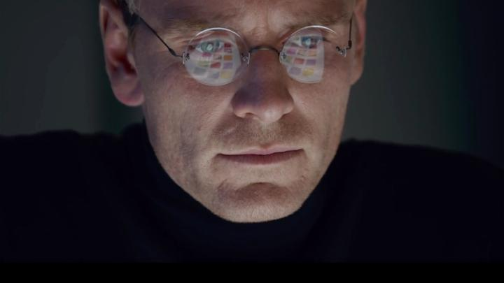 Michael Fassbender as the Apple Computers co-founder in Danny Boyle's new film Steve Jobs.