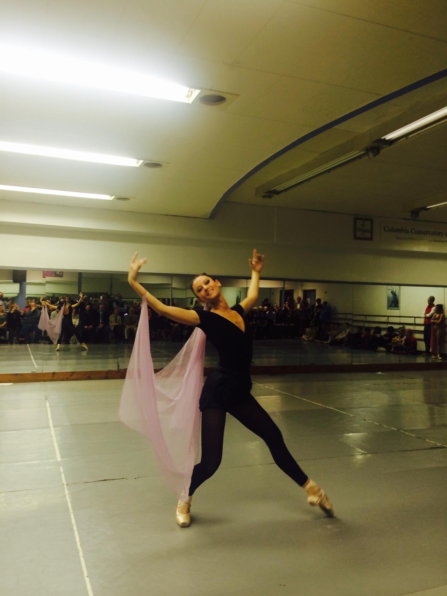 principal dancer Claire McCaa