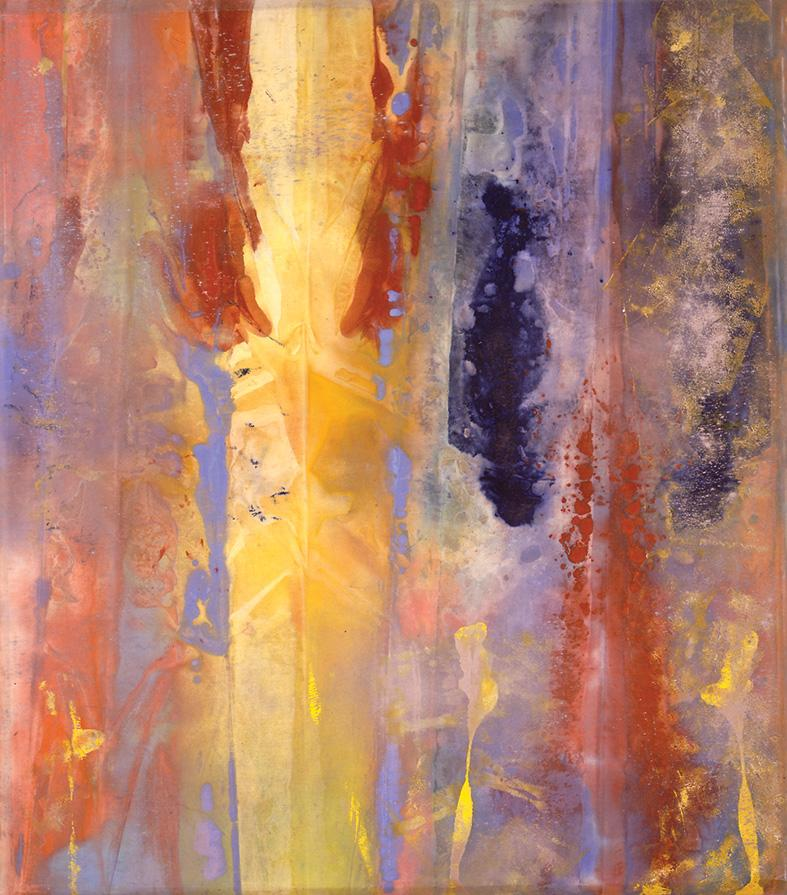 Cape II - Sam Gilliam (1970 acrylic on canvas)