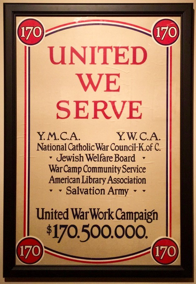 Photo: United We Serve, Anonymous, 1918, Chromolithograph