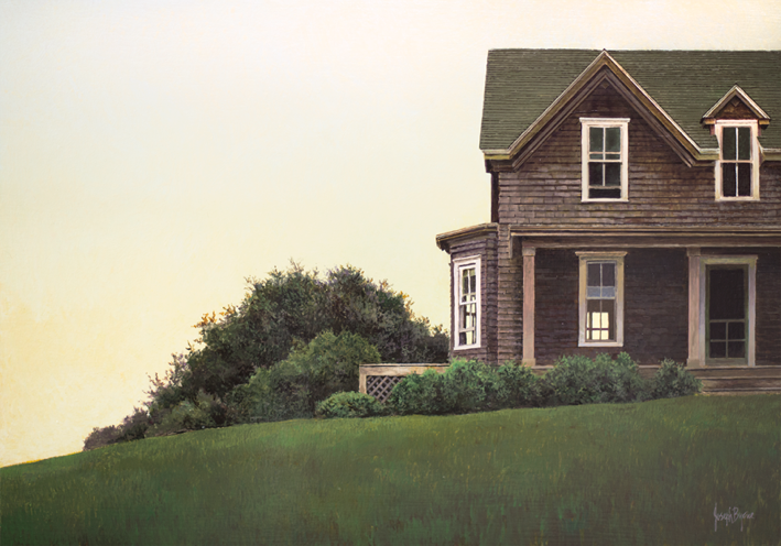 Summer House, Block Island by Joe Byrne