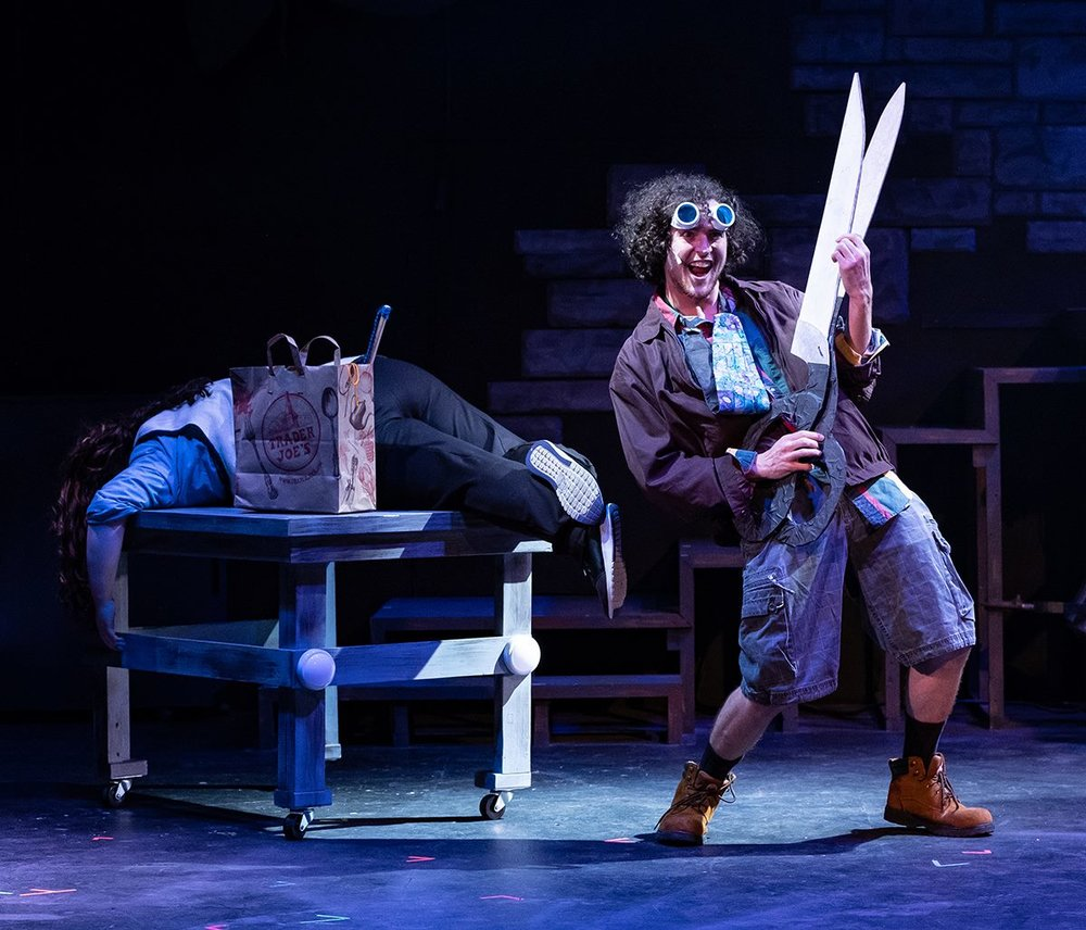 Patrick Dodds as Buffalo Bill - all photos courtesy of Trustus Theatre