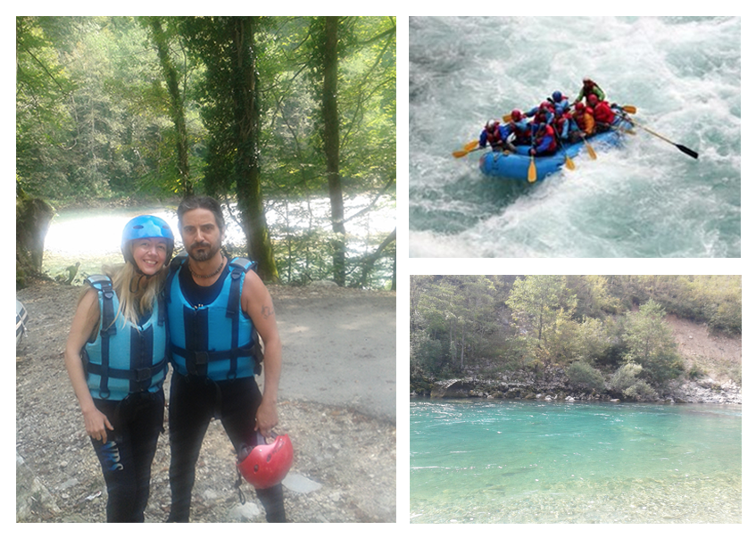 Whitewater rafting in Montenegro