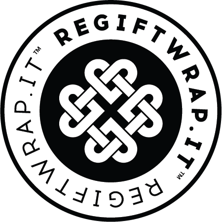 Regiftwrap™ - eco-chic reusable gift wrap that keeps on giving™