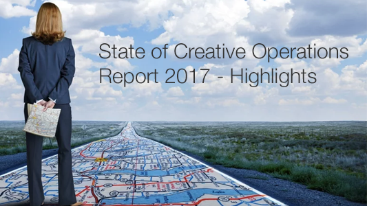 State of Creative Ops Report 2017  This 2017 reports delivers valuable insights with actionable strategies. Provide a deeper understanding of the biggest challenges creative operations leaders face. Help creative operations leaders better understand their state in the Creative Operations Maturity Model, and what they can do to get better.   >>   WATCH WEBINAR
